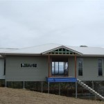 The Stauntons House Hepner Homes Colorbond Cladding Goes And