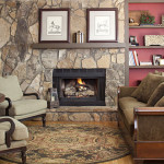 The Stone Wall And Fireplace Keeping Room Same