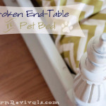 The Story Broken End Table Pet Bed Revival