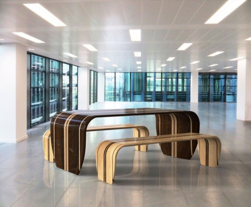 The Surf Ace Table And Bench Duffy London