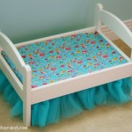 The Tutorial For How Make Tulle Bedskirt Twin Size Bed