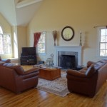 The Vaulted Ceilings Room Shown Here Did Not Compliment