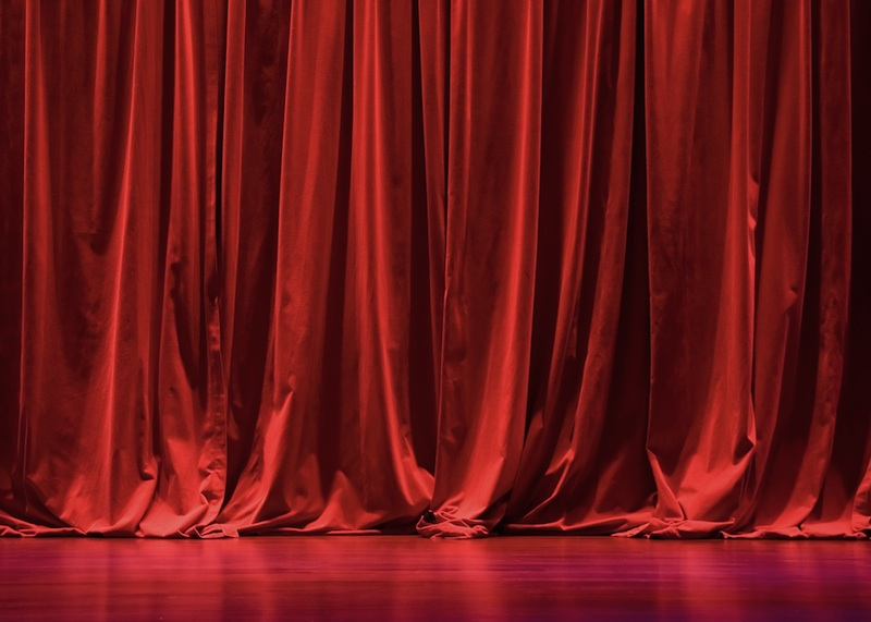 Theatre Curtain Finishes Explained Unfinished Stage Curtains