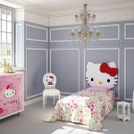 Theme Bedrooms Helo Kitty Girl Room Ideas Home And Modern