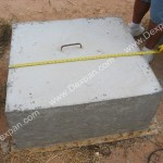 This Dexpan Usage Demonstration Small Concrete Block Used
