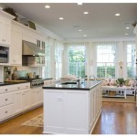 This Kitchen Has Clean Slate That Basks Flood Light Entering