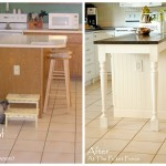 This Kitchen Island Makeover Done Heather From The Picket Fence