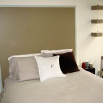 This One Similar Has Part The Wall Painted Headboard