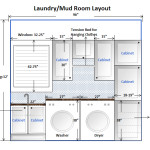 This Our Laundry Mud Room Layout Now The Door From Garage