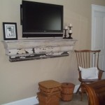 This Shelf Works Great Under The Mounted Home Ideas