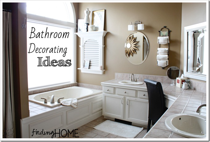 This The Story How Decorated Our Master Bathroom