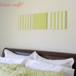 This Was Simple And Inexpensive Way Dress The Bare Wall