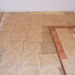 Tile Advance Complex Pattern Physically Laying Out The