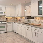 Tile Backsplashes Ideas For White Cabinets Gallery Home Designs