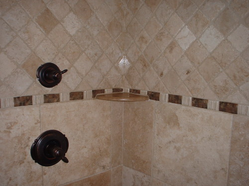 Tile Bathroom Shower Design Designs Pictures