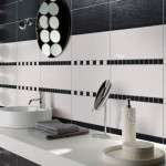 Tile Designs For Bathrooms Black And White