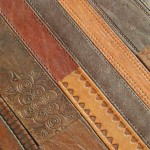 Ting Material Leather Belt Floor Tiles