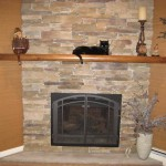 Tips For Decorating Fireplace Mantels Contemporary Stone