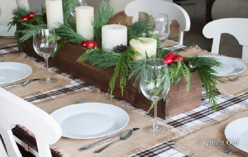 Top Inspirational Ideas For Christmas Dinner Table Inspired