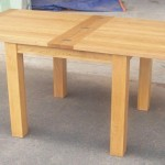 Top Oak Dining Tables Narrow Folding Console