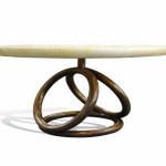 Top Table Wood Base Design