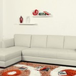 Tosh Furniture Wilson Contemporary Leather Sectional Sofa Modern