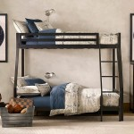 Traditional Boys Room Decorations Grey Bunk Bed