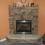 Traditional Corner Stone Fireplace Designs Fireplaces Design