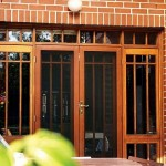 Traditional Home Security Doors And Windows Design