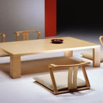 Traditional Japanese Dining Room Furniture Design From Hara