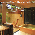 Traditional Japanese Style Tatami Suit Guestroom