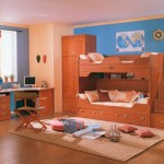 Traditional Study Room Bunk Bed Decorclips