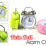Traditional Twin Bell Alarm Clock This Features The