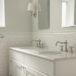Traditional White Subway Tile Bathroom