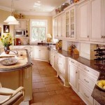 Traditionally Designed Long Narrow Kitchen Space Adding