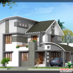 Trans House Plan And Elevation For Bhk