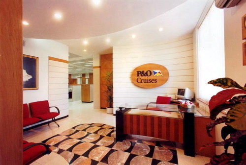 Travel Agency Office Baldiwala Associates Interior Design Home