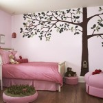 Tree Painting Wall For Girl Room Design