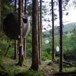 Tree Tent Sustainable Temporary Forest Dwelling Luminair Gblog