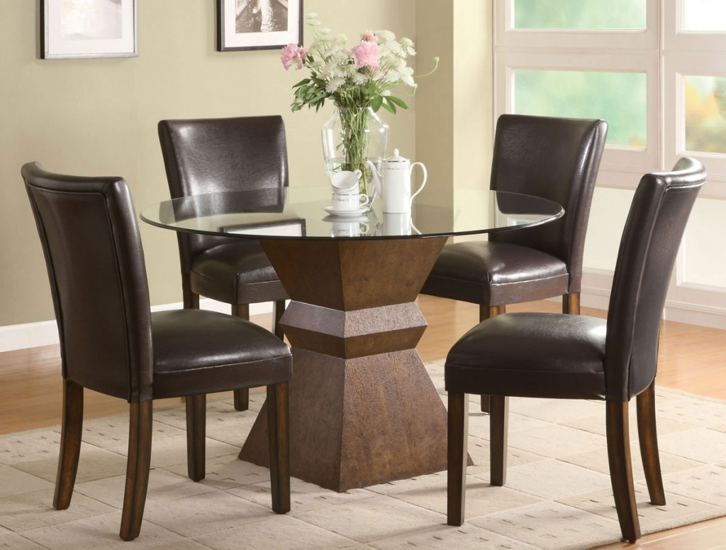 Trendy Neutral Round Dining Table Home Decor Gallery