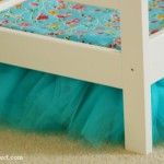 Tulle Bedskirt Just The Right Size For This Ikea Doll Bed