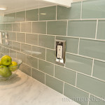 Turquoise Glass Subway Tiles Flickr Sharing
