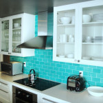 Turquoise Subway Tile Design Ideas Pictures Remodel And Decor