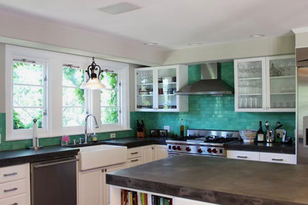 Turquoise Subway Tiles Successful Examples How Add