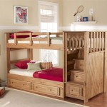 Twin Stairway Bunk Bed Over Stairs