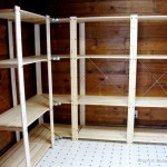 Two Men And Little Farm Mudroom Shelving