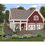 Two Story Garage Apartment Plans Floor