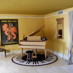 Ugly Piano Rug Semi Nude Painting Picture Million Dollar Home Phoenix
