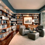 Ultra Modern Home Library Design