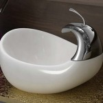Unique And Stylish White Sinks Design Bathroom Appliances Carsmach